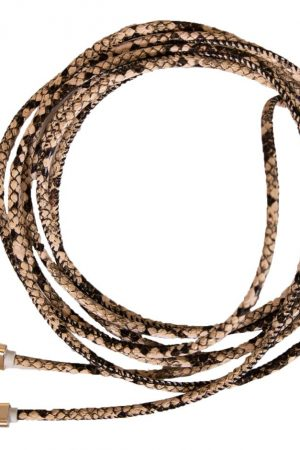 Snakeskin Charger Cord - Courtyard Style