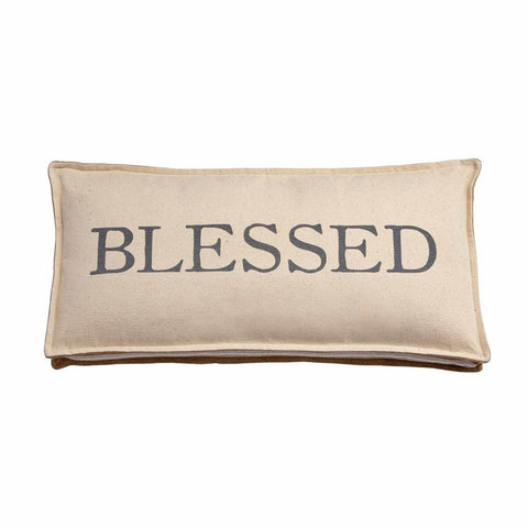 Blessed and Grateful Pillows - Courtyard Style
