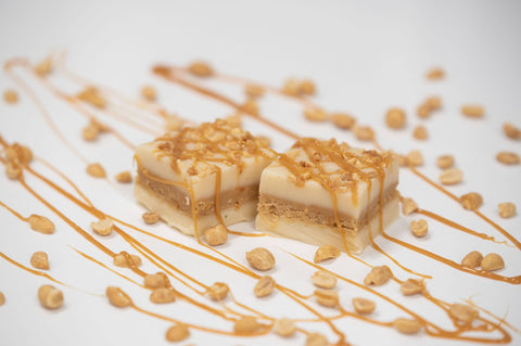 Caramel Salted Peanut Fudge - Courtyard Style