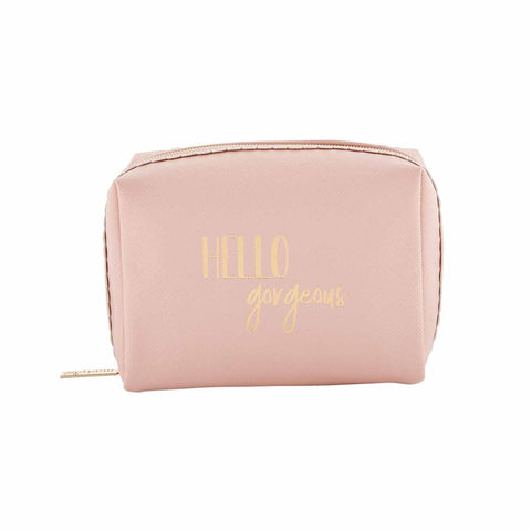 Square Make Up Bag - Courtyard Style