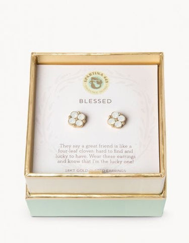 Sea La Vie Blessed Earrings - Courtyard Style