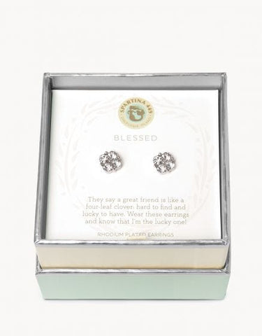 Sea La Vie Blessed Earring Silver - Courtyard Style