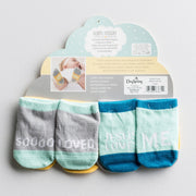Bright Future Sock Set - Courtyard Style