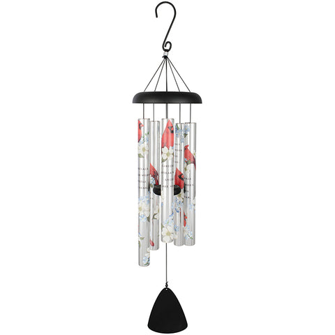"36"" Cardinals Appear Chime - Courtyard Style"