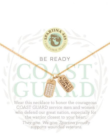 Sea La Vie Coast Guard Necklace - Courtyard Style