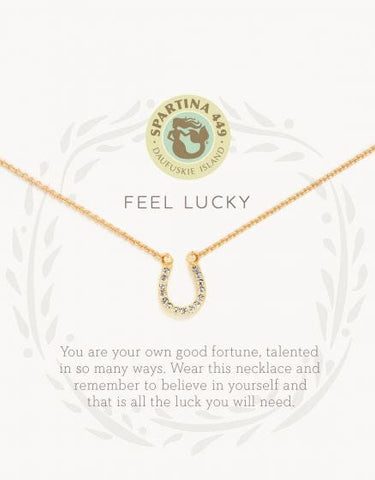 Sea La Vie Feel Lucky Necklace - Courtyard Style