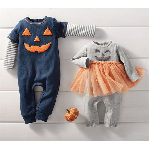Jack O'Lantern One Piece Boy - Courtyard Style