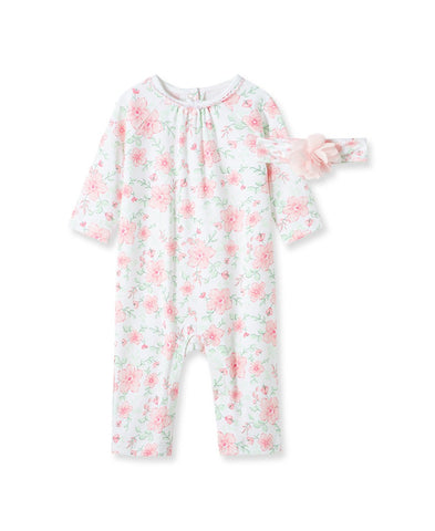 Floral Flourish Coverall - Courtyard Style