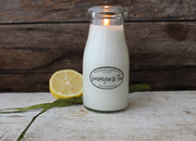 Milkhouse Lemongrass Tea Milkbottle Candle - Courtyard Style