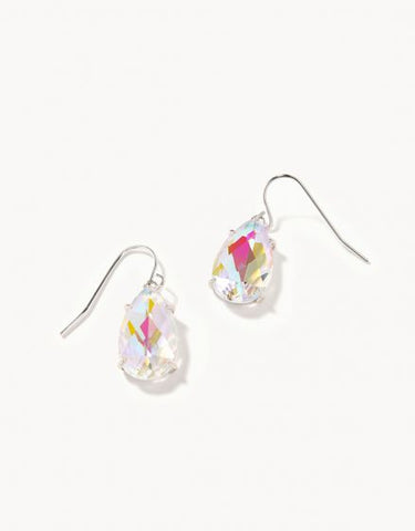 Mermaid Glass Petite Dewdrop Earrings - Courtyard Style