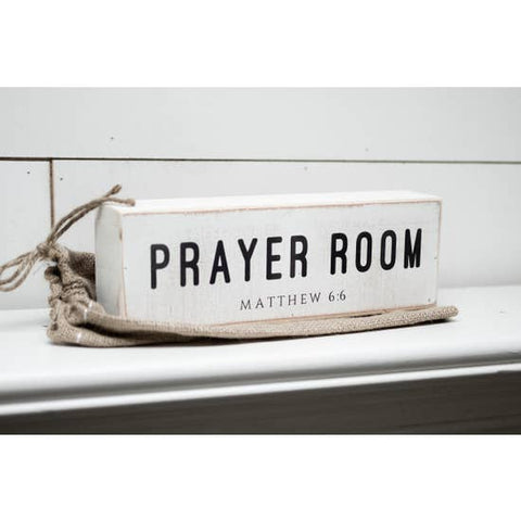 Prayer Room Shelf Sitter - Courtyard Style