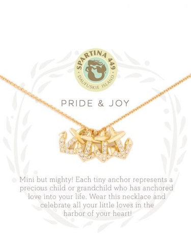Sea La Vie Pride and Joy Necklace-Four - Courtyard Style