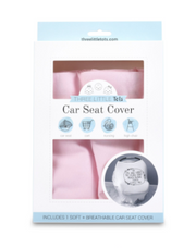 Pink Car Seat 5 in 1 Cover - Courtyard Style