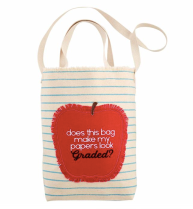 Teacher Tote - Courtyard Style