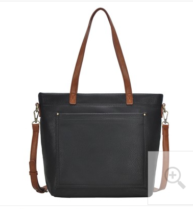 Black Two Tone Shoulder Bag