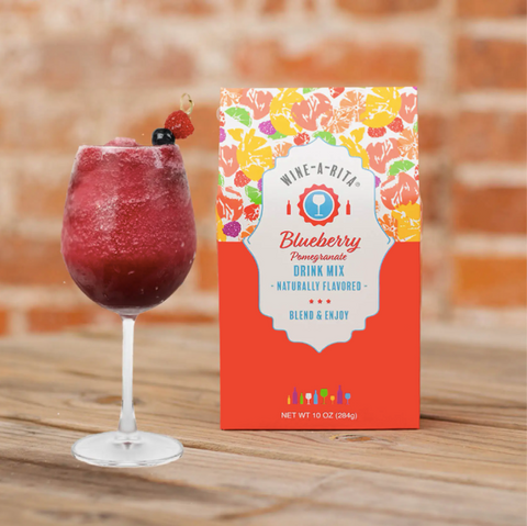 Blueberry Pomegranate Boxed Drink Mix - Courtyard Style