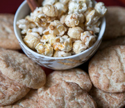 Snickerdoodle Popcorn - Courtyard Style