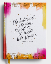 She Believed Journal - Courtyard Style