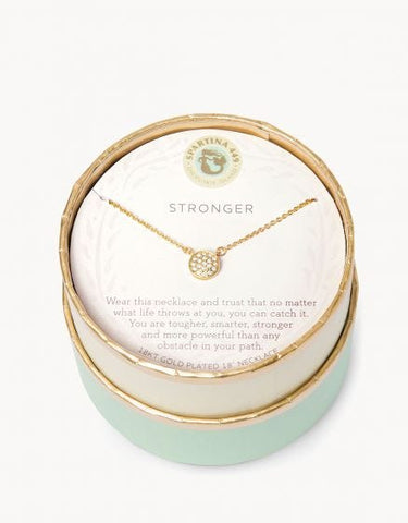 Sea La Vie Stronger Necklace - Courtyard Style
