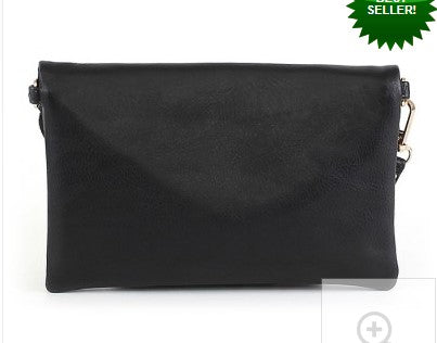 Envelope Clutch/Crossbody Bag - Courtyard Style