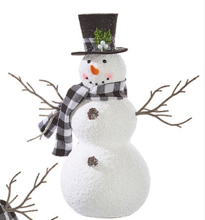 Checked Snowman