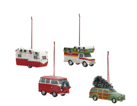 Camper Ornaments - Courtyard Style