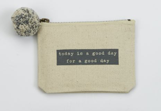 Happy Pouch-Good Day - Courtyard Style