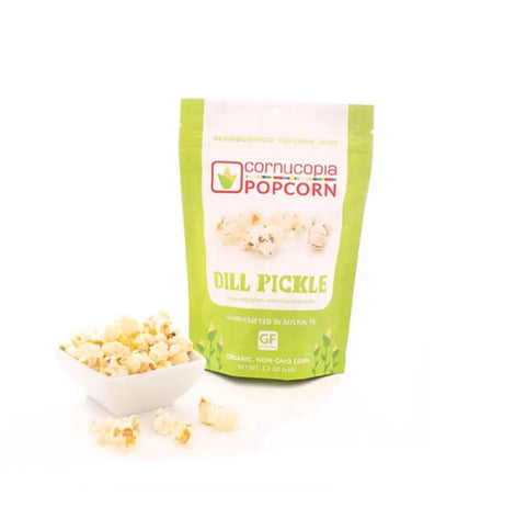 Dill Pickle Popcorn - Courtyard Style