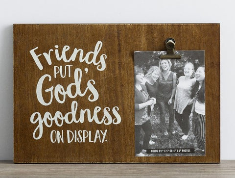 Friends Clip Photo Frame - Courtyard Style