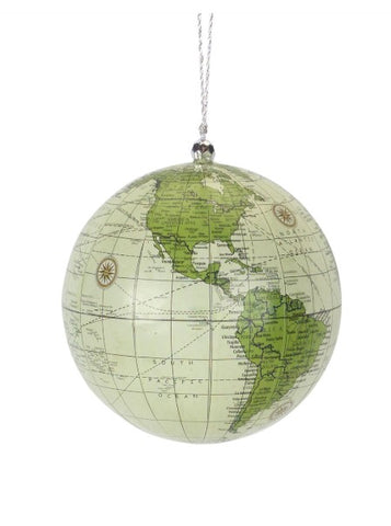 Globe Ornament - Courtyard Style