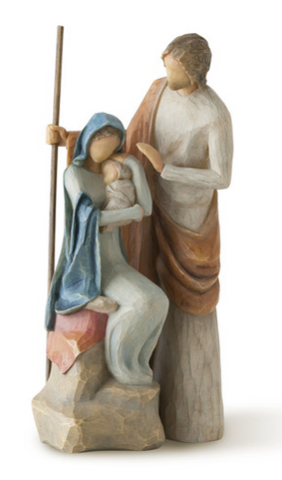 The Holy Family - Courtyard Style