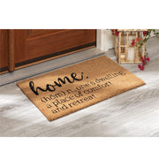 Home Definition Door Mat - Courtyard Style