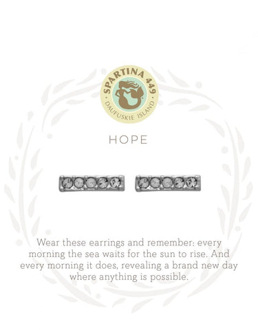Sea La Vie Hope Stud Earrings - Courtyard Style