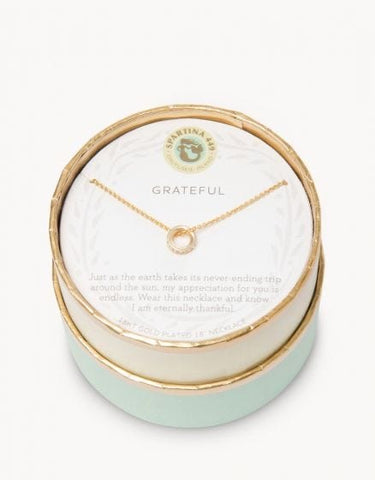 Sea La Vie Grateful Necklace - Courtyard Style