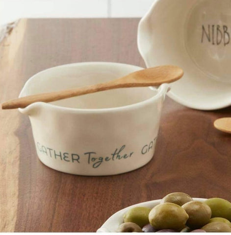 Gather Together Appetizer Bowl - Courtyard Style