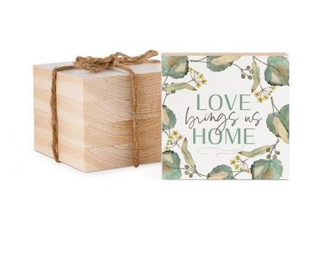 Love Brings Us Home Coaster - Courtyard Style