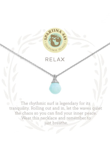 Sea La Vie Relax Necklace - Courtyard Style