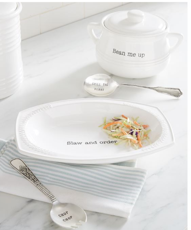 Slaw Serving Set - Courtyard Style