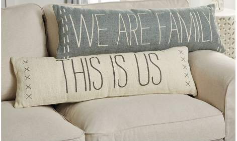 This Is Us Long Pillow - Courtyard Style