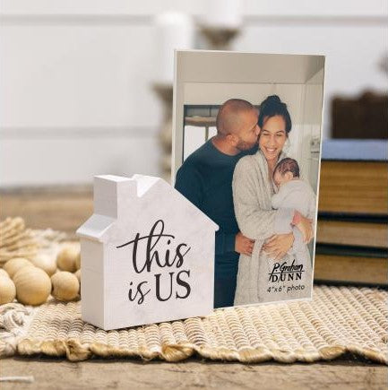This is Us Tabletop Photo Frame - Courtyard Style