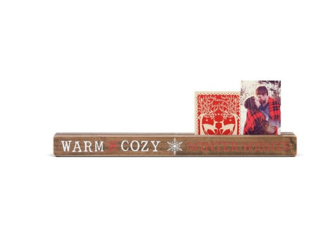 Warm & Cozy Wishes Photo Holder - Courtyard Style
