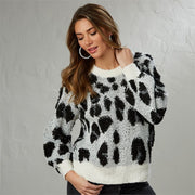 Linden Leopard Sweater - Courtyard Style