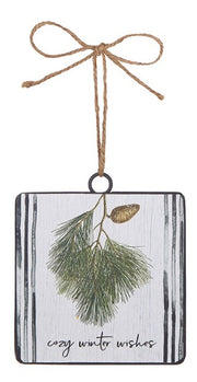 Winter Wishes Ornament - Courtyard Style