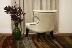 Baxton Studio Taft MicroFiber Club Chair