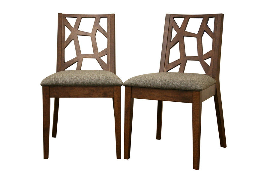 Baxton Studio Jenifer Modern Dining Chair in Set of 2