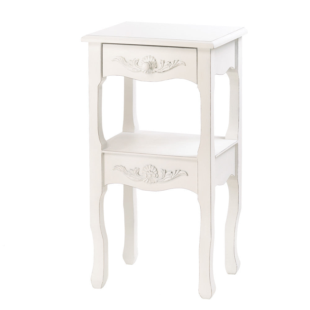 Simply White Side Table