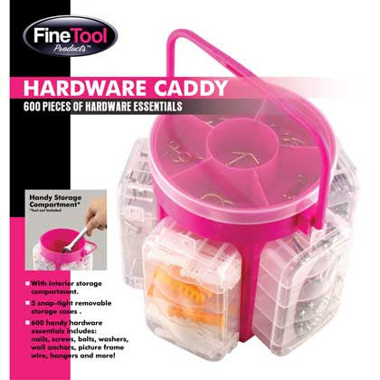 600 Piece Hardware Caddy