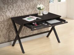 Baxton Studio Tulsa Dark Brown Modern Desk