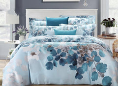 Leaves Oil Painting Luxury 4-Piece Tencel Duvet Cover Sets