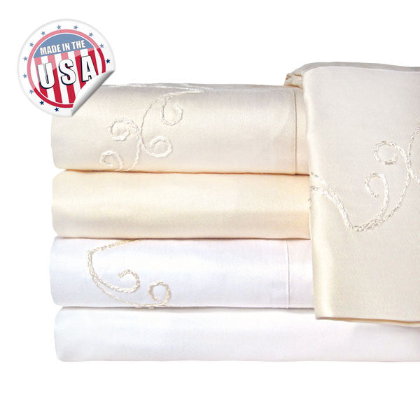 1200TC SCROLL SHEET SET IN DIFFERENT COLORS AND SIZES